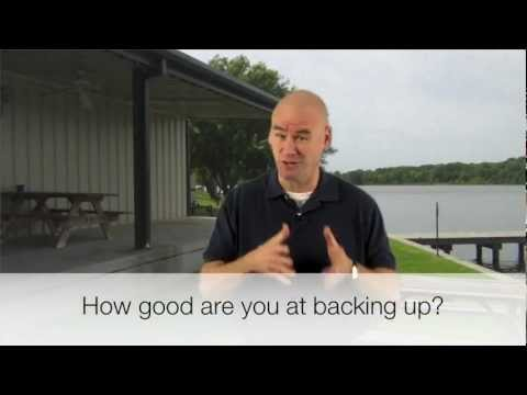East Texas Camping- Backing up your RV camper- Tyler Texas- Lake Palestine Resort
