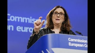 EU threatens retaliaton to Trump tariffs