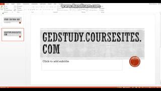 Free GED Test Prep Classes online