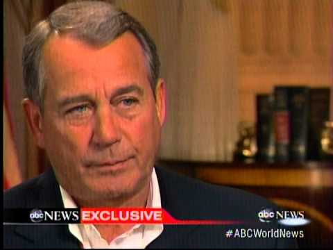 FLASHBACK: Boehner: Obamacare is the Law of the Land