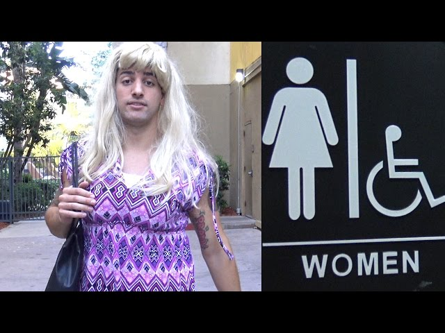 Obukao se kao žensko i ušao u ženski WC da vrši nuždu. Pogledajte kako su na to reagovale ostale djevojke