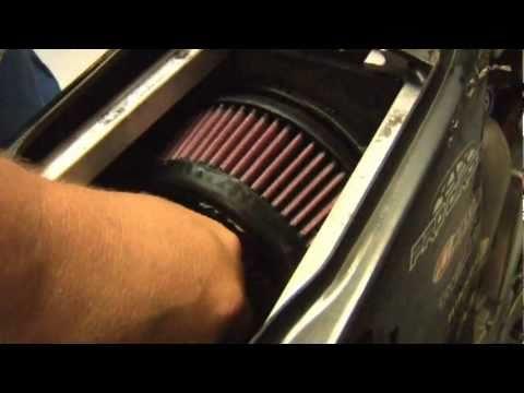 Dirt Bike K&N Air Filter Installation