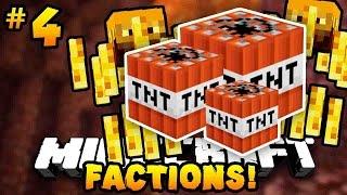 """Minecraft FACTIONS """"BLOWING UP BLAZE SPAWNERS!"""" #4 - w/PrestonPlayz & MrWoofless"""