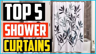 Top 5 Best Shower Curtains in 2020 – Reviews