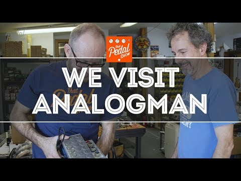 That Pedal Show – We Visit AnalogMan HQ In The USA