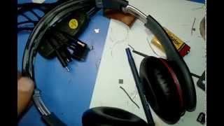 Ремонт наушников beats, замена дуги, ремонт дуги ч.1