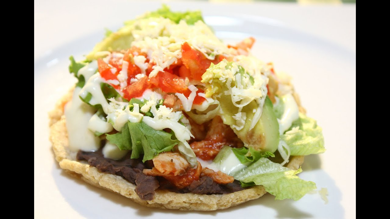 Receta. Sopes de mercado - YouTube