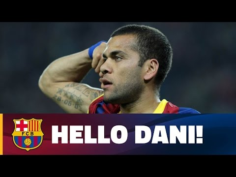 Dani Alves: Top 10 goals at FC Barcelona