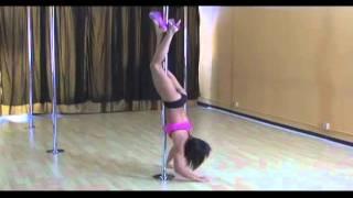 Advanced Pole Dance Instructional DVD - by Nicole Williams