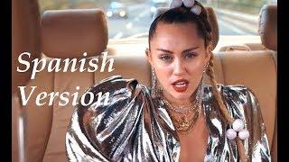 Nothing Breaks Like a Heart - Mark Ronson ft. Miley Cyrus Spanish Version (Cover en Español) Video