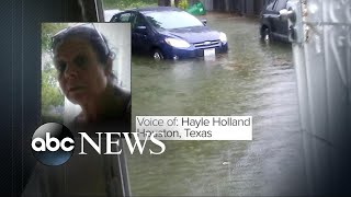 Trapped resident in Houston's 5th ward speaks