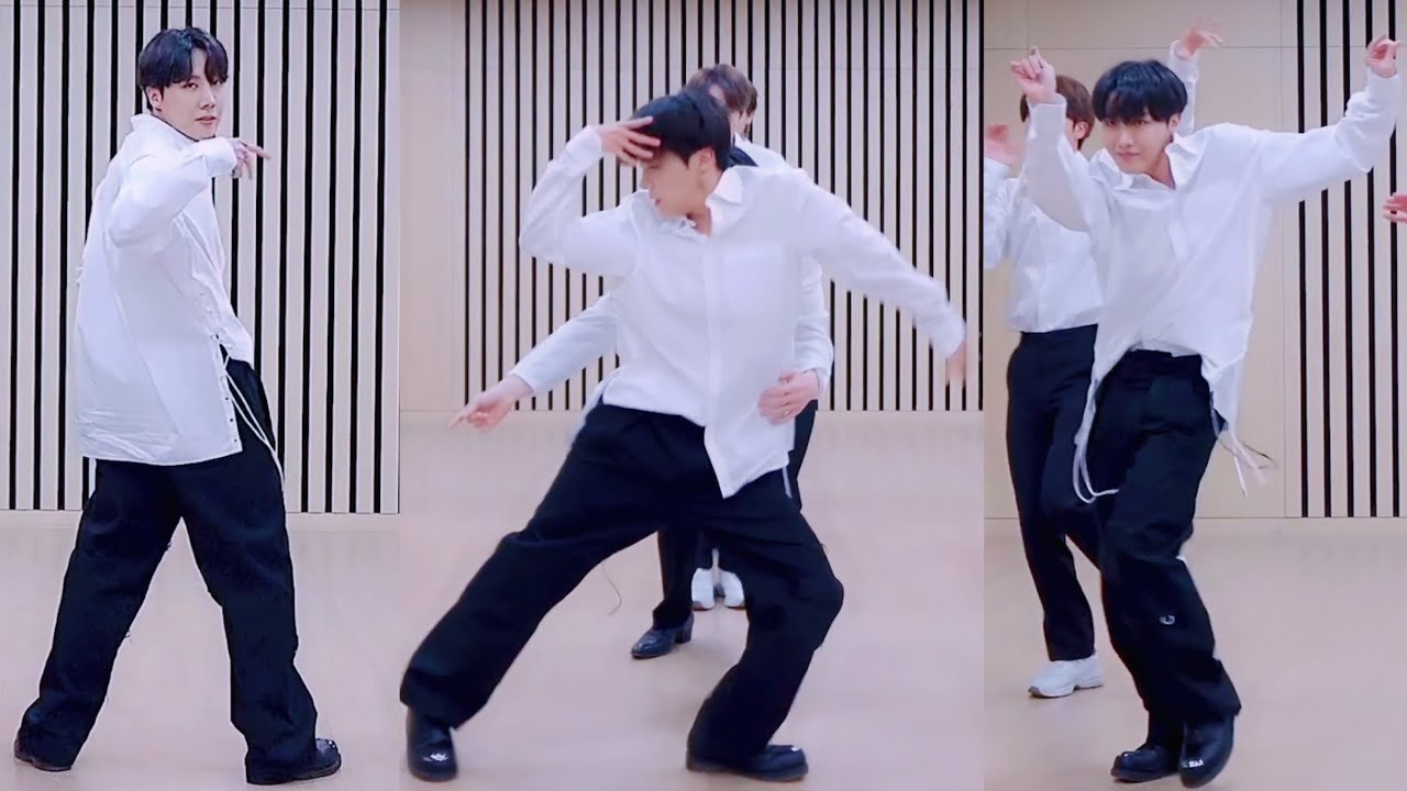 'Dynamite' Dance Break Practice (BTS J-Hope focus) @ 2020 MMA  - 방탄소년단 제이홉 직캠