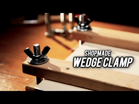 shopmade wedge clamp (bar clamp)