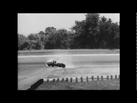 Early Fatal Auto Crashes at Indy 500 16mm 1080i ProResHD CinePost Wetgate Transfer