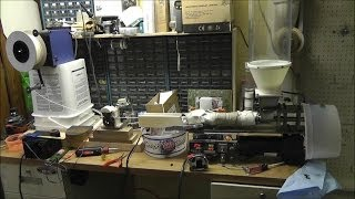 #13 ~Russ's Filament Extruder: Over View, Thoughts, & Making Good Filament. www.RWGresearch.com