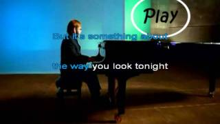 elton john - something about the way you look tonight Karaoke
