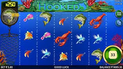 🤑Scatter 💰15 Free Spins on 🐟HOOKED New Slot | Booming Games | 24Bettle