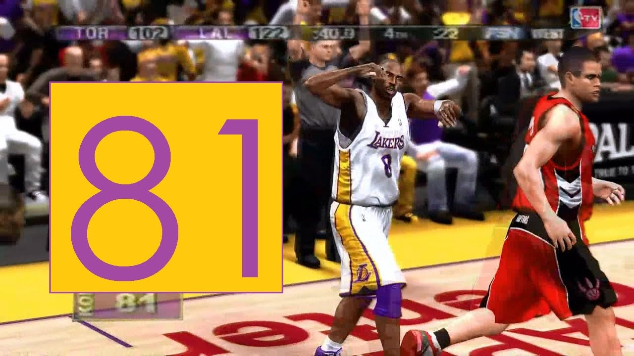Kobe Bryant's 81-point Game Details - lakersuniverse.com