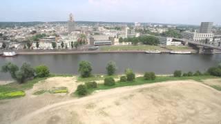 DJI Inspire 1, Stadsblokken, Arnhem (4K, ULTRA HD)