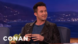 Magician Justin Willmans Shows The Secret Of The Card & Balloon Trick  - CONAN on TBS