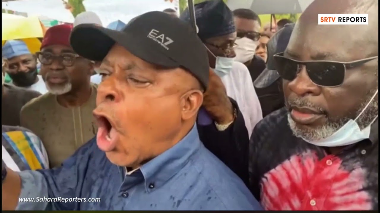 PDP Protest At NASS Against Lauretta Onochie's Nomination As INEC Commissioner