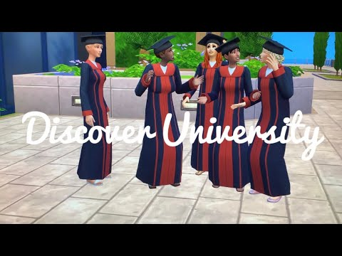WE DID IT!!😃🥳👩🏾🎓 | The Sims 4 Discover University |