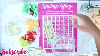 SAVINGS BINGO| SAVE $5 BILLS AND MORE WITH THIS $5 SAVINGS CHA…