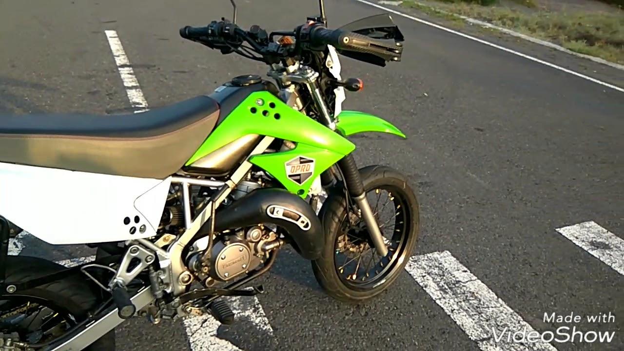 Kawasaki KLX 150 engine swap