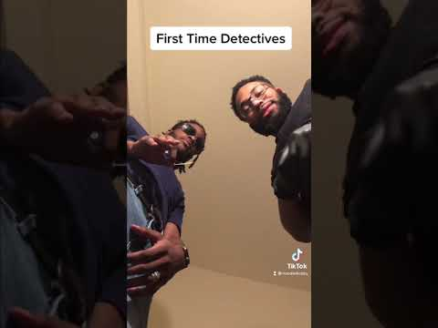 First time detectives! Must see ending! #Shorts