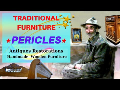 Antiques Wooden Showcases