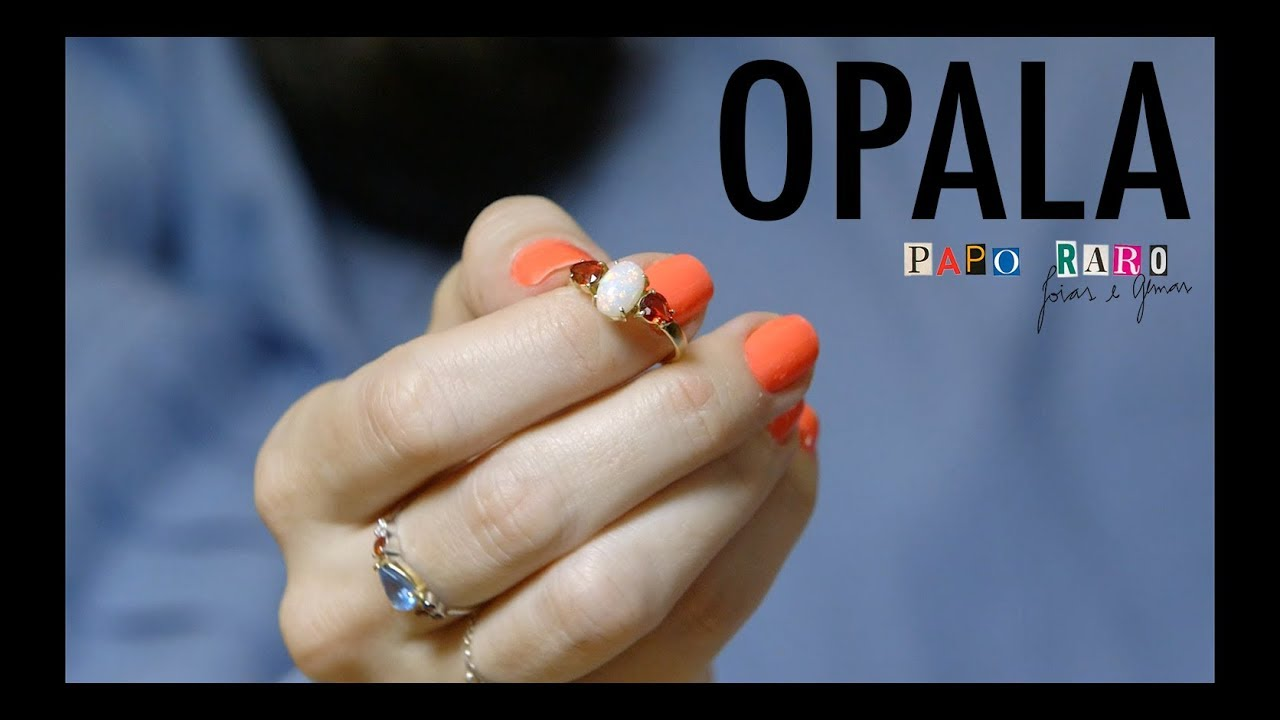 All about the gemstone OPAL - PAPO RARO (with ENG subtitles)