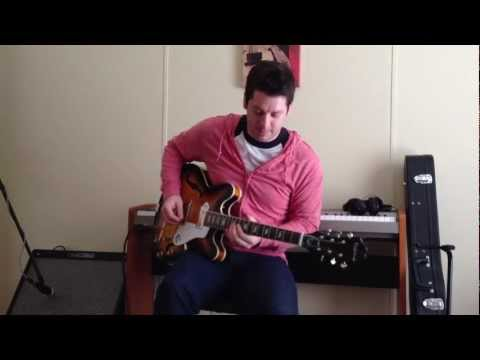 Epiphone Casino : Clean and Crunchy demo