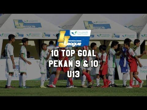 Top 10 Goal Indonesia Junior Mayapada League pekan ke 9 & 10 [U13] 2019