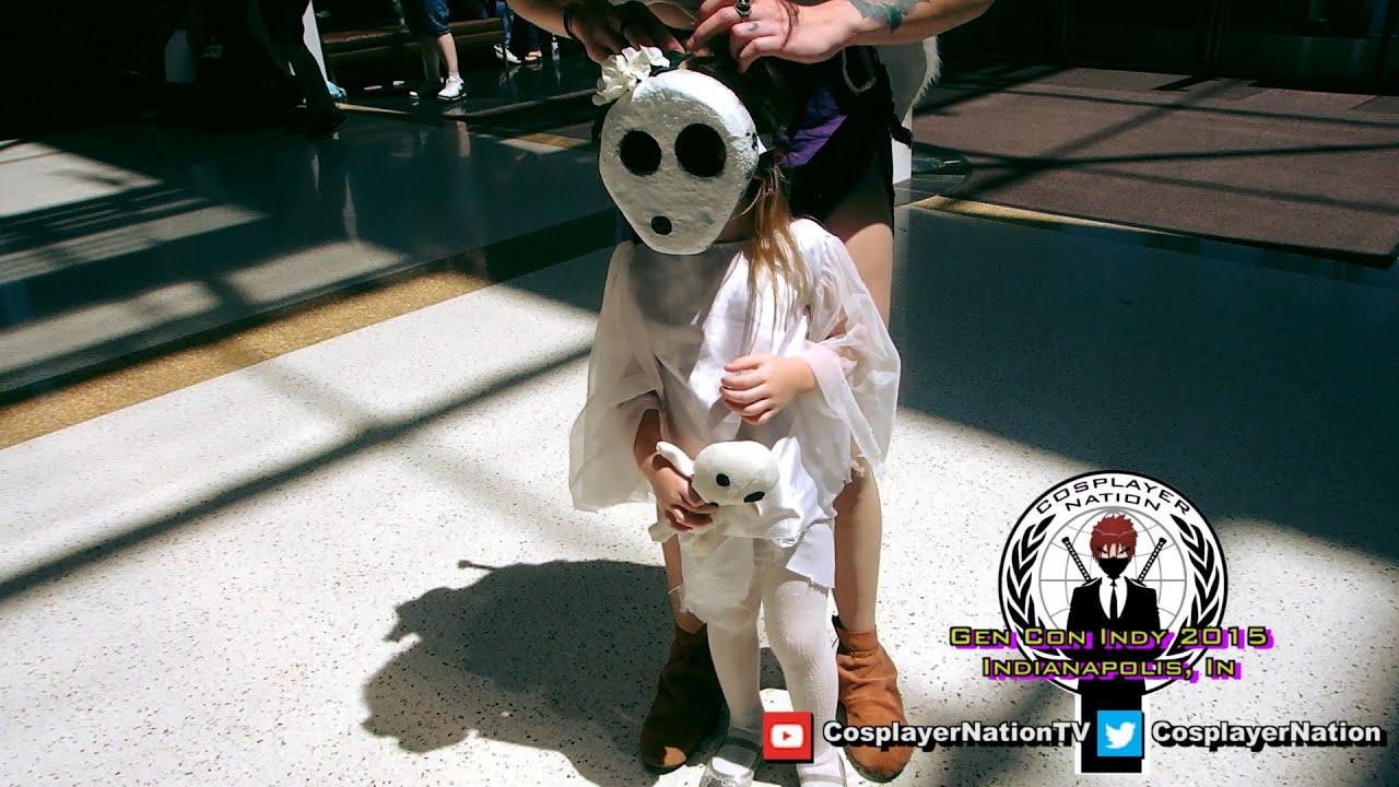princess mononoke cosplay with dog