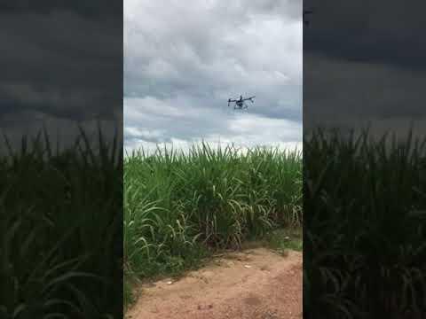 Auto flight test Sb1 M410 โดรนการเกษตร ทำงานอัตโนมัติ