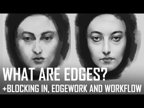 Critique Hour! What are edges? Blocking in, edge-work and workflow.