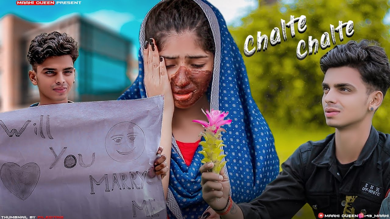 Chalte Chalte - Mohabbatein | Crush Love Story | Kya Yahi Pyar Hai | Maahi Queen | Latest Song 2020