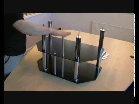 Assembling An S Amp C Lcd Plasma Tv Stand How To Guide Youtube