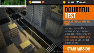 Sniper 3D Assassin Gabe's Crossing Primary Mission #11 Doubtful Test