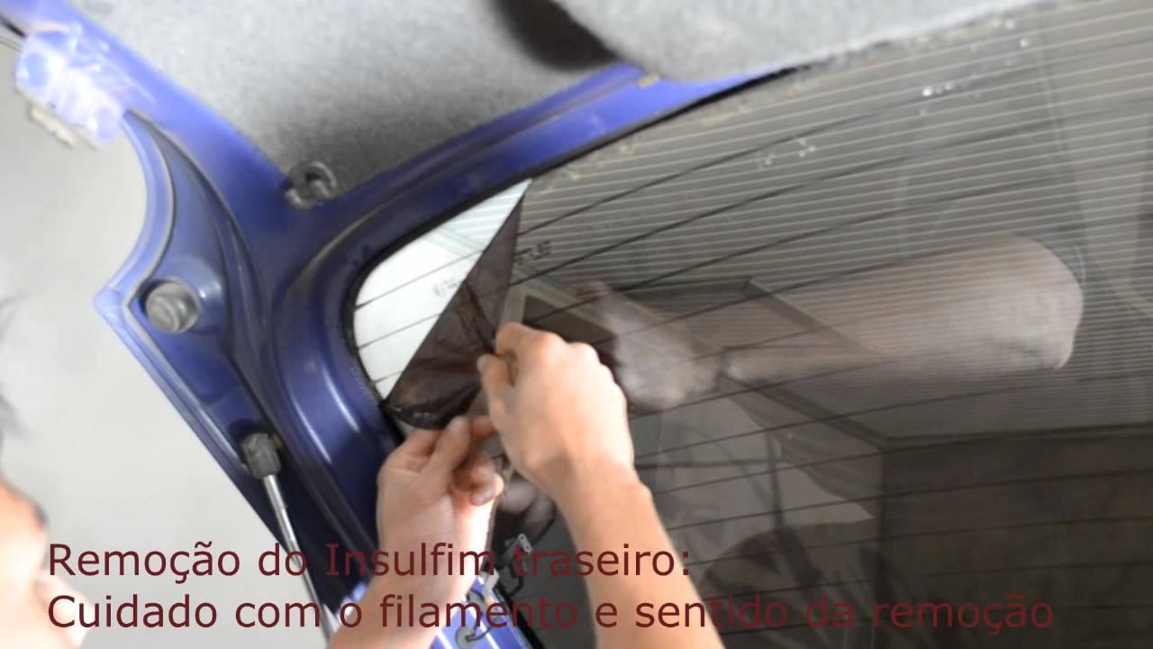 Removendo película - Removendo insulfilm  Canal RM  - YouTube 524799de78