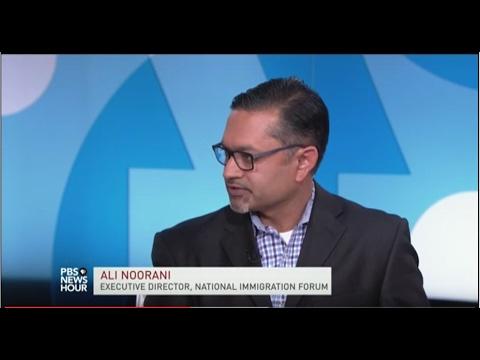 Ali Noorani on PBS NEWSHOUR 11/9/16