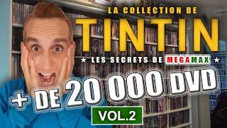 INCROYABLE ! Volume 2 - Tintin Possède Une Collection De Plus De 20000 Dvd