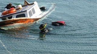 سبعة قتلى في اصطدام سفينة دورية يونانية بزورق مهاجرين