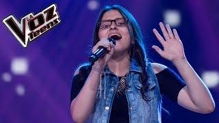 Angie canta 'Hoy ya me voy' | Audiciones a ciegas | La Voz Teens Colombia 2016