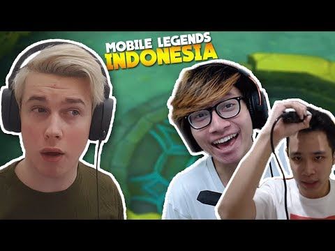 Reacting To Mobile Legends INDONESIA!