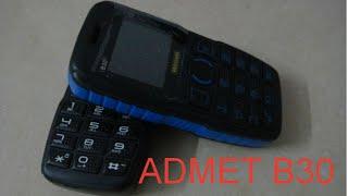 ADMET B30 мобильный телефон с Power Bank 5000 mAh Dual SIM-карта(ADMET B30 мобильный телефон с Power Bank Dual SIM-карта Яркий фонарик большой дисплей 1.77inch Модель ADMET B30 Генеральный..., 2014-09-28T09:45:35.000Z)