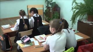 Видеофрагмент урок русского языка Пономарева В Б