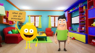 Download lagu Past Tense - Simple Past Song - English Song For Kids - Music For Kids - TORO