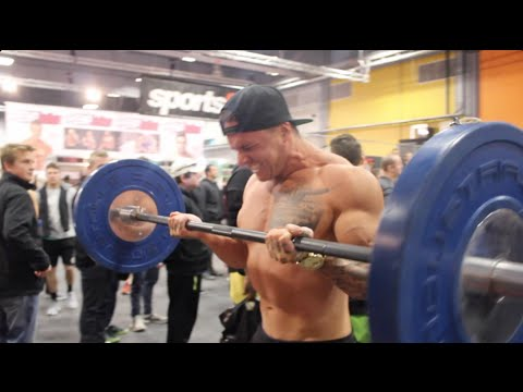 Freezma takes over the NZ Fitness Expo 2015