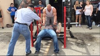 Bench Press Competition/Grand Opening Party | Alpha Omega S. Dakota | BigJsExtremeFitness